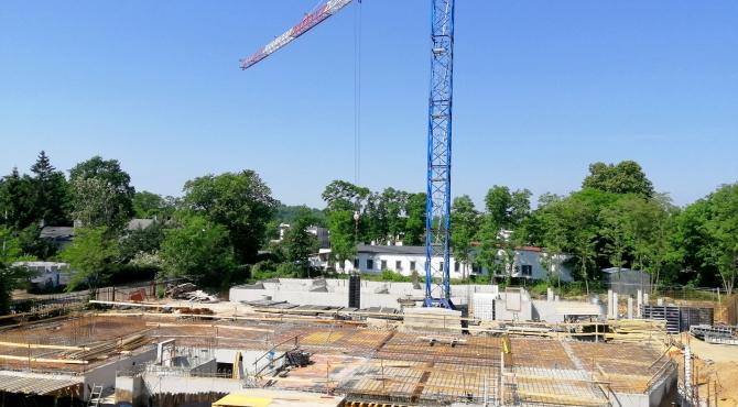 Postęp prac budowlanych 06.2019