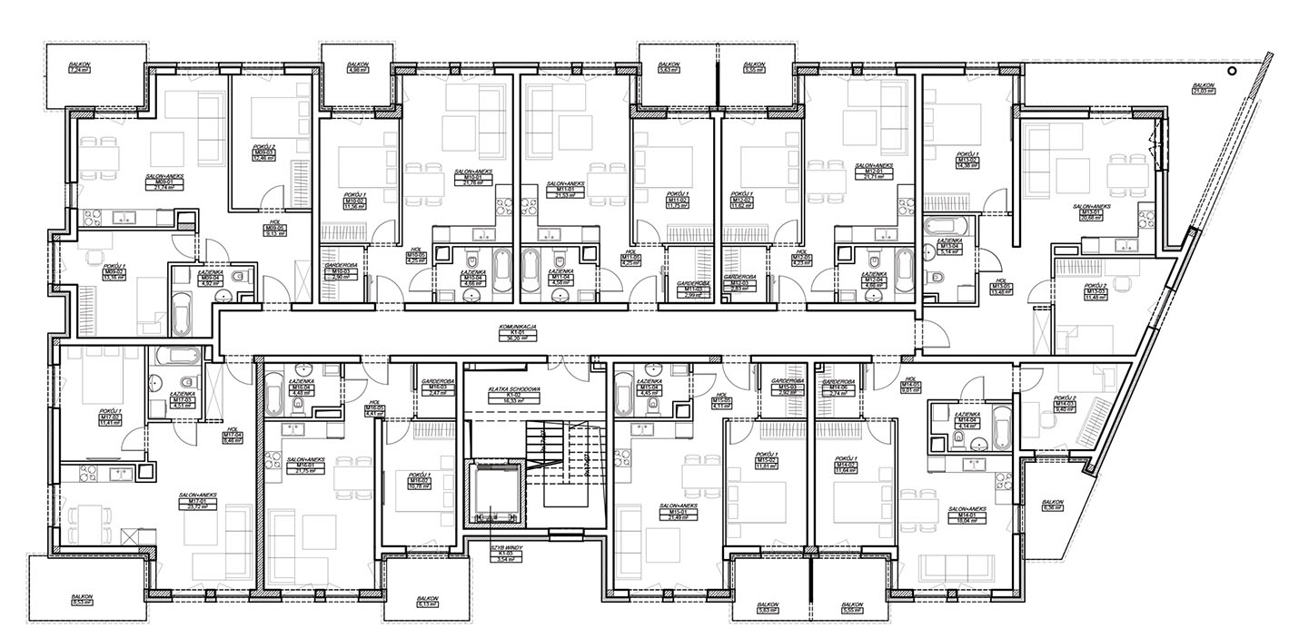 Finansowa 100 - Budynek B - Piętro 1