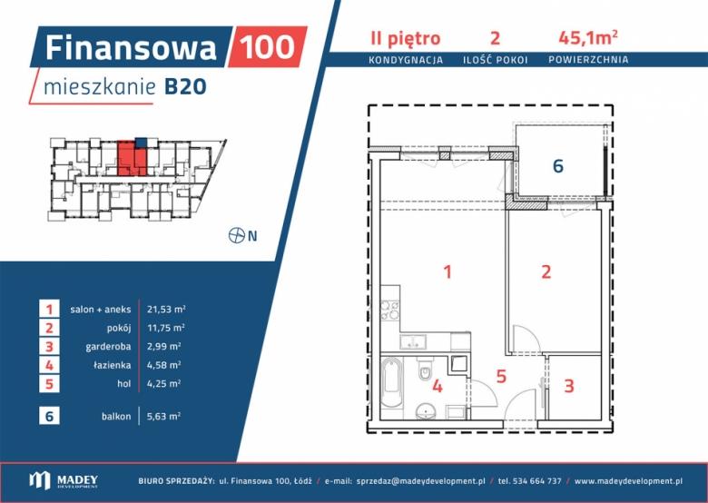 Mieszkanie B20