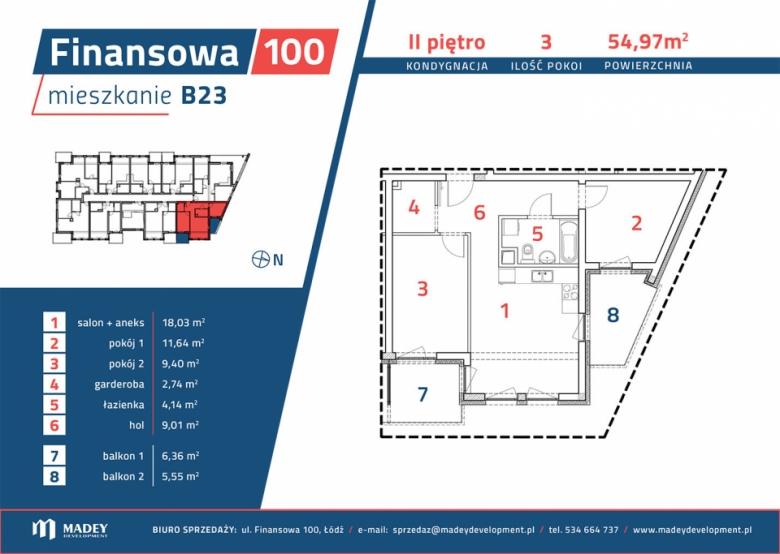 Mieszkanie B23