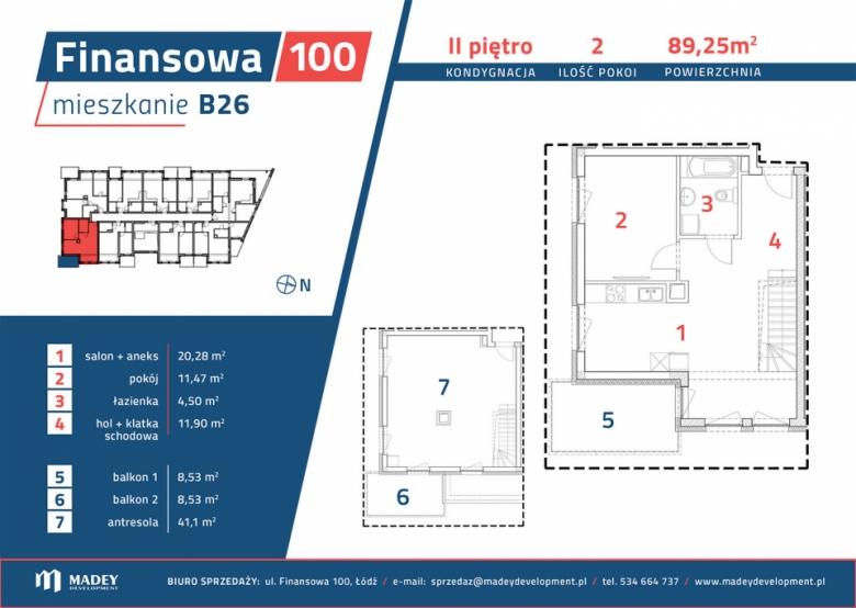 Mieszkanie B26
