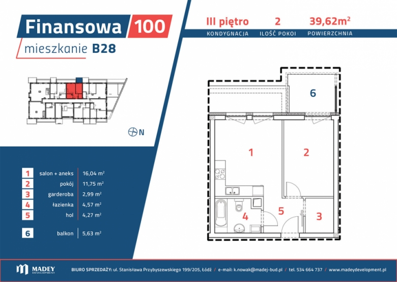 Mieszkanie B28