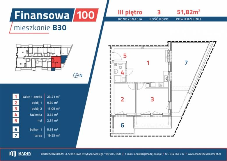 Apartament nr. B30