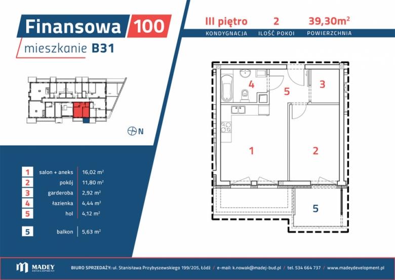 Mieszkanie B31