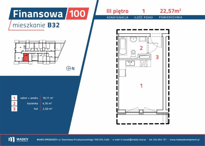 Mieszkanie B32