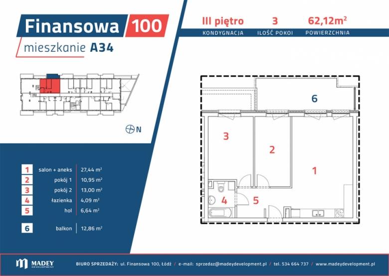 Mieszkanie A34