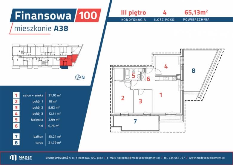 Apartament nr. A38