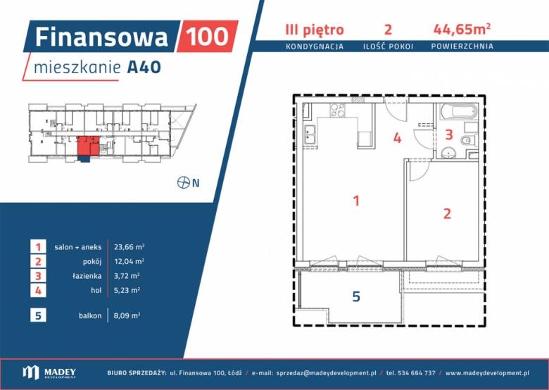 Mieszkanie A40