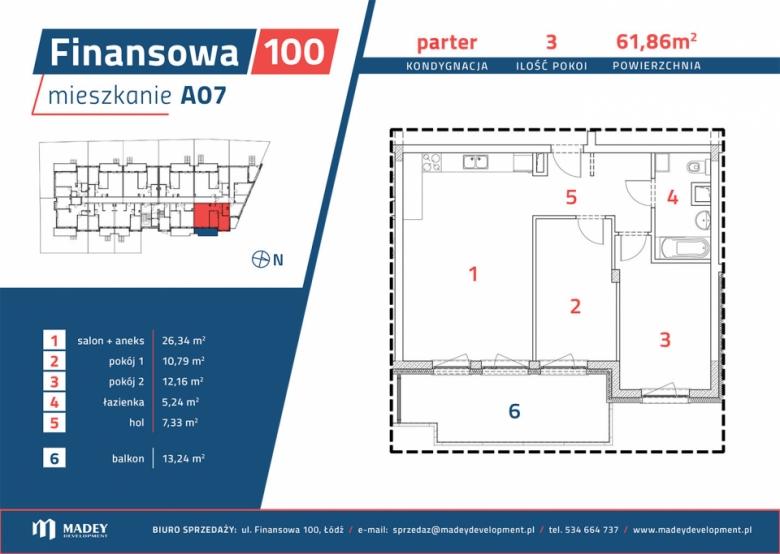 Mieszkanie A07