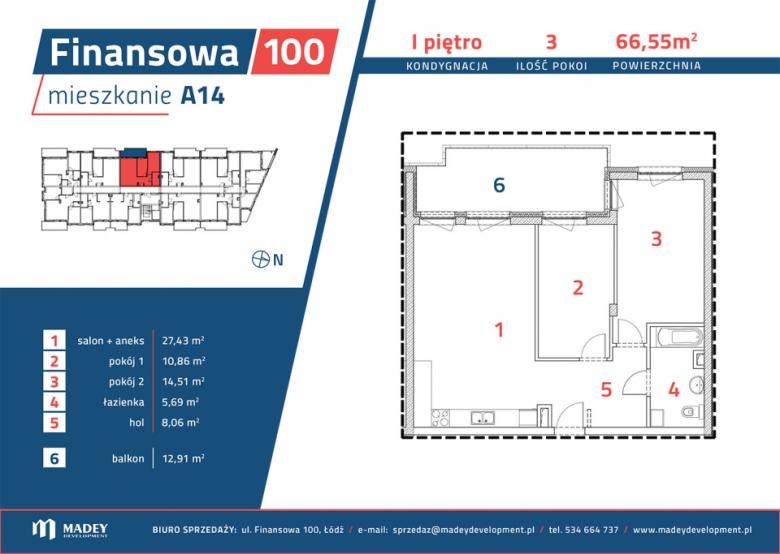 Mieszkanie A14