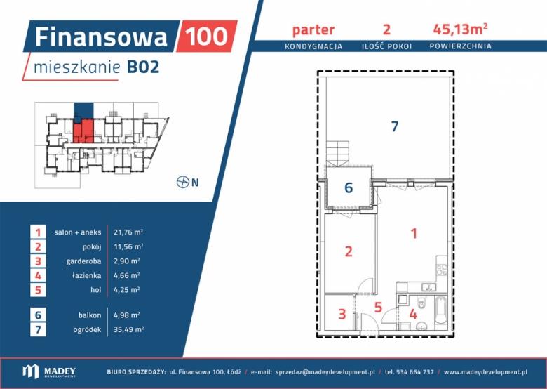 Apartament nr. B02