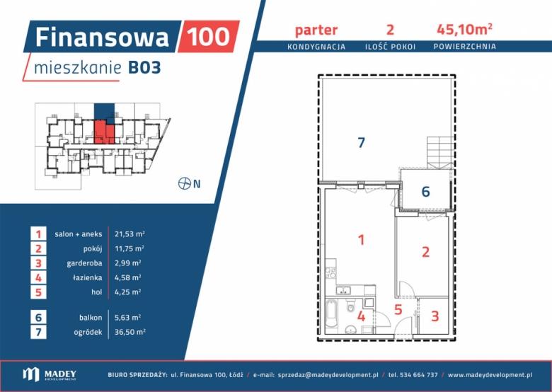 Mieszkanie B03