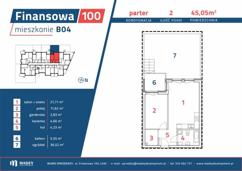 Mieszkanie B04