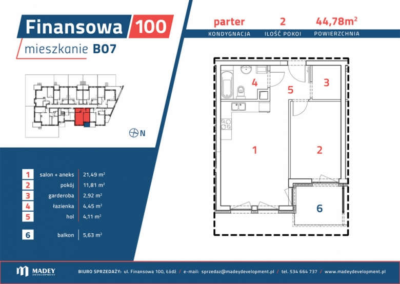 Mieszkanie B07