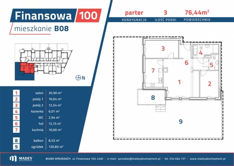 Mieszkanie B08