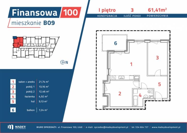 Apartament nr. B09