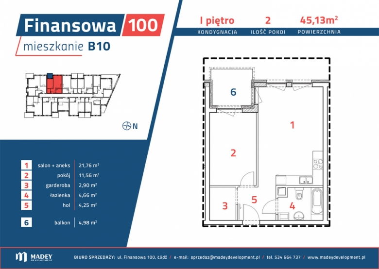 Mieszkanie B10