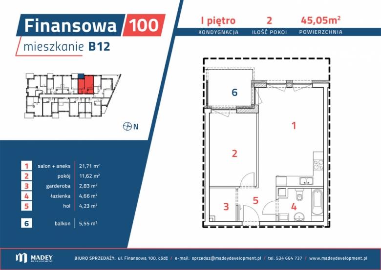 Apartament nr. B12