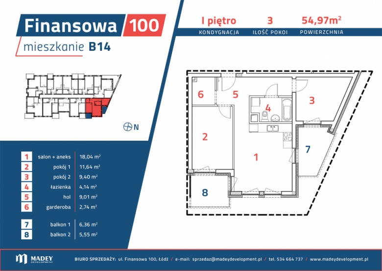 Apartament nr. B14