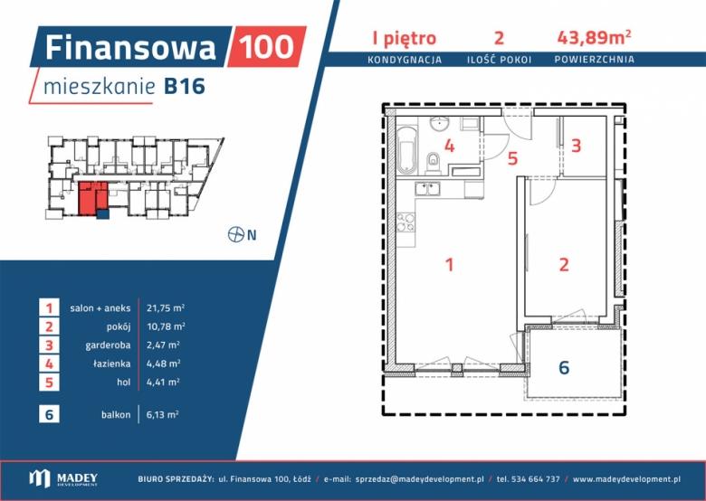 Apartament nr. B16