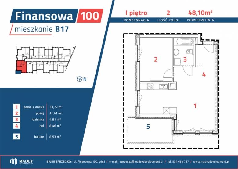 Apartament nr. B17