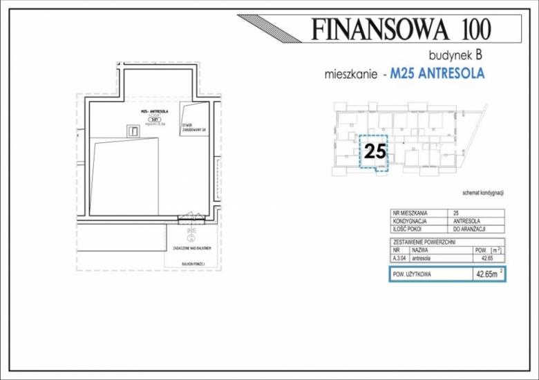 Mieszkanie B25