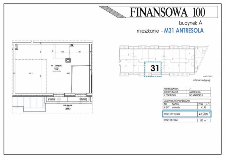 Mieszkanie A31